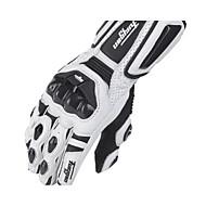 Lange Vinger Leder Leer motorfietsen Handschoenen