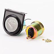 """iztoss linię 0-100 psi 2 """"skrajni mechaniczne ciśnienia oleju (czarna twarz tarcza, czarna ramka, biały LED)"""