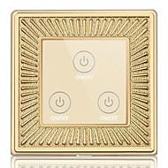 painel de metal de liga de zinco interruptor de parede toque inteligente toque sensor do controle remoto