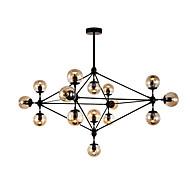 Lustres ,  Moderno/Contemporâneo Pintura Característica for LED Redução de Intensidade Metal Sala de Estar Quarto Sala de Jantar16