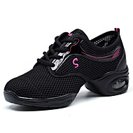 Women's Dance Shoes Synthetic Synthetic Dance Sneakers / Beginner Black / Red / White