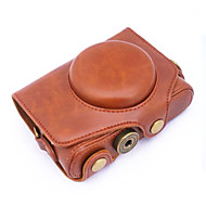 כיסוי תיק תיק עור המצלמה dengpin® pu עבור sx720 hs PowerShot sx720 קנון (צבעים שונים)