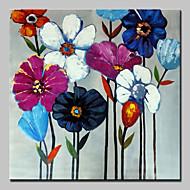 käsinmaalattuja kukkia öljymaalauksia kankaalle modernia seinälle kuvan venytetty runko valmiina ripustaa