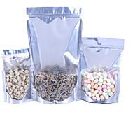 alumínio prateleira folha saco fechado com zíper puxar independência osso embalados sacos de comida um pacote ten13 * 20 * 4