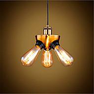Luzes Pingente ,  Rústico/Campestre Vintage Retro Rústico Latão Característica for LED Estilo Mini Designers MetalSala de Estar Quarto