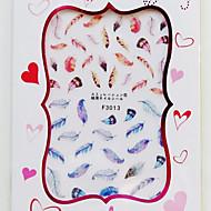 1 Nail Art matrica 3D-s körömmatricák smink Kozmetika Nail Art Design