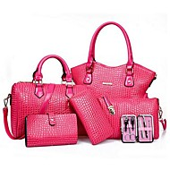 Női PU Alkalmi táska szettek