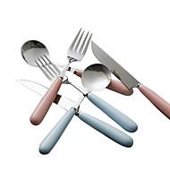 פלדת אל חלד 304 מזלג ארוחת ערב / סכין ארוחת ערב / כפית לתה / כפית מיוחדת כפיות / מזלגות / סכינים 4 חלקים