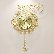 Moderne/Contemporain Niches Horloge murale,Autres Acrylique / Aluminium / Métal 52*75cm Intérieur Horloge