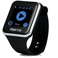 抗アレルギーストラップブルートゥーススマートウォッチ電話アンドロイド時計tpsiv 2.5D曲面サファイアタッチスクリーンとmifoneスマートウォッチ