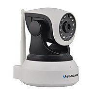 VStarcam 1.0 MP Indoor with IR-cut 128(Day Night Motion Detection Dual Stream Remote Access IR-cut Plug and play) IP Camera