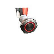 interruptor de inox puro botão de metal 16 milímetros de aço