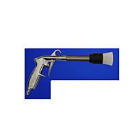 carro ferramenta de cabeleireiro uma arma de limpeza interior cabeça da escova tornado mão com escova