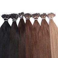 neitsi 20 '' 25g / lot 1g / s pierścień nano przechylić proste ludzkie przedłużanie włosów