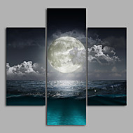 Landscape Modern,Three Panels Canvas Any Shape Print Wall Decor For Home Decoration