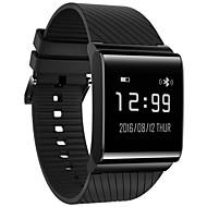 Ip67 vandtæt blodtryk hjertefrekvens overvågning anti tabt bluetooth smart armbånd til iOS android