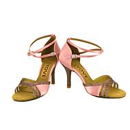 Εξατομικευμένο-Λάτιν Σάλσα-Παπούτσια Χορού- μεΠροσαρμοσμένο τακούνι- απόΣατέν- γιαΓυναικείο