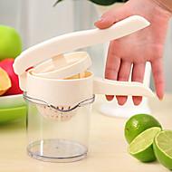 1 ks Ruční odšťavňovač For u ovoce Plast Vysoká kvalita Multifunkční Tvůrčí kuchyně Gadget