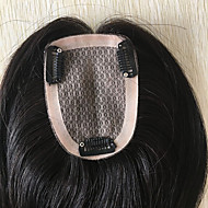 14 Brazilian Remy Human Toupee Hair For Woman Mono Base Top Toupees Hairpiece Hair System Replacement