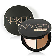 1Pcs Professional Face Makeup Two-Color Bronzer & Highlighter Powder Trimming Powder Make Up Cosmetic Brand Sugar Box