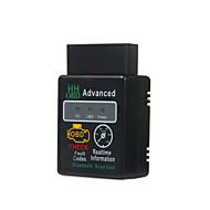 Elm327 obd2 obdi2 sem fio bluetooth 2.1 obd 2 obd ii scanner de diagnóstico leitor desempenho plug and drive chip tuning box
