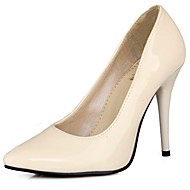 Women's Heels Spring Summer Fall Patent Leather Casual Office & Career Dress Stiletto Heel Yellow Red Green Blue Blushing Pink 4in-4 3/4in