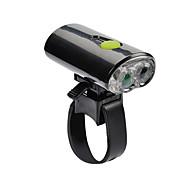 Lanternas LED Lanternas de Cabeça Luzes de Bicicleta LED Ciclismo Recarregável Tamanho Pequeno USB Lumens USB Branco Frio Ciclismo