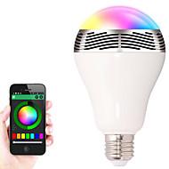 bl-05 trådløse Bluetooth 4.0 højttalere RGB LED pære farveskiftende smarte LED lys lyd højttaler til ios / android / tablet