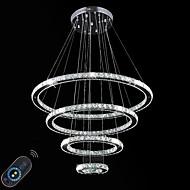 Luzes Pingente ,  Contemprâneo Tradicional/Clássico Galvanizar Característica for Cristal LED Redução de Intensidade MetalSala de Estar