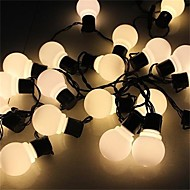 4m nyhed 20 førte kloden tilsluttes guirlande party bold string lamper til fe bryllup haven vedhæng blomsterkrans