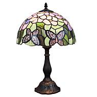 40 Tiffany Työpöydän lamppu , Ominaisuus varten Silmäsuoja , kanssa Maalattu Käyttää Päälle/pois -kytkin Vaihtaa