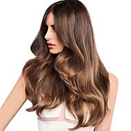 Włosy naturalne Włosy indyjskie Wyróżnione włosów Głębokie fale Przedłużanie włosów 1 sztuka Strawberry Blonde / Średni Auburn