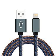 Lightning USB 2.0 Gevlochten High-Speed Kabel Voor iPhone iPad MacBook MacBook Air MacBook Pro cm Nylon Aluminium