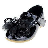 Para Meninas-Rasos-Conforto Sapatos para Daminhas de Honra-Rasteiro--Courino-Casamento Ar-Livre Escritório & Trabalho Social Casual