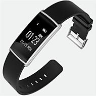 Smart armbåndVandafvisende Lang Standby Brændte kalorier Skridttællere Sport Pulsmåler Touch Screen Distance Måling Information