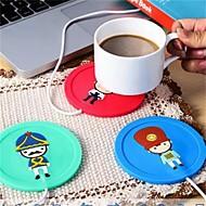 1pcs usb Nabe Schalenwärmerbüro Kaffee Teebecher Heizungsauflage Mattenwintergetränk gelegentliche Farbe