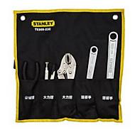 Stanley 5 mozgatható csavarkulcs és fogó készlet táska lapos lefelé eszköz vizuális tárolás