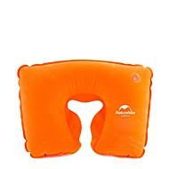 1個 旅行用ピロー キャンプ用枕 のために オレンジ ダークブルー ブルー