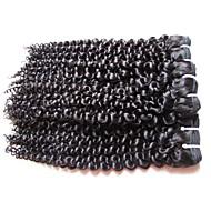 Hurtowy mongolski kinky kędzierzawy dziewiczy włosy 5bundle 500g partii 100% nieprzerwany ludzki włosy naturalny naturalny czarny kolor