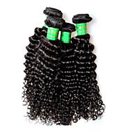 400g 4bundles indian kinky curly virgin hair deal 8a gatunek indian remy ludzkie włosy rozszerzenia tkactwo pełne zakończenie 100g / szt