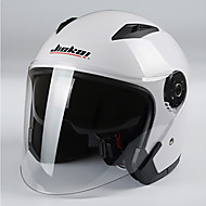 Jiekai мотоцикл шлем унисекс скутер мото шлемы casco capacete с двойной линзой