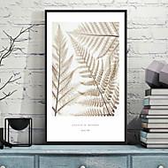 Kukkakuvio/Kasvitiede Kehystetty 3D-taide Wall Art,Polystyreeni materiaali Frame For Kodinsisustus Frame Art Living Room Makuuhuone