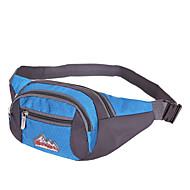 Herren Taschen Frühling/Herbst Sommer Nylon Hüfttasche mit für Sport Marineblau Arm Green Himmelblau Rot Violett