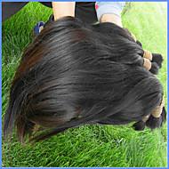 Najwyższej jakości brazylijski dziewiczy włosy luzem 3bundle 300g dużo naturalnych brazylijskich ludzkich włosów naturalny czarny kolor do
