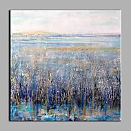 Pintados à mão Abstrato Modern 1 Painel Tela Pintura a Óleo For Decoração para casa