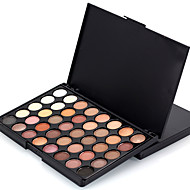 40 Colors Professional Eye Shadow Eyeshadow Palette Dry Matte&Glitter Smoky&Colorful Eyeshadow Powder Daily Party Makeup Cosmetic Palette Set
