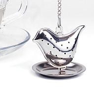 Infusor de chá de aço inoxidável para pássaro