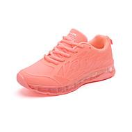 Dames Platte schoenen Comfortabel PU Herfst Sportief Causaal Formeel Wandelen Comfortabel Veters Platte hak Wit Oranje Grijs Blauw2,5 -