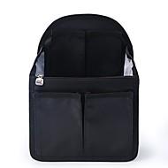 Damen Taschen Ganzjährig Nylon Aufbewahrungstasche mit für Normal Schwarz