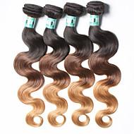 Nyanse Peruviansk hår Krop Bølge 18 måneder 4 deler hår vever kg Raske hårvever